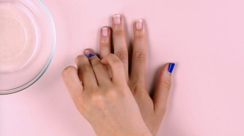 Nägel lackieren kurze Naegel Lackieren