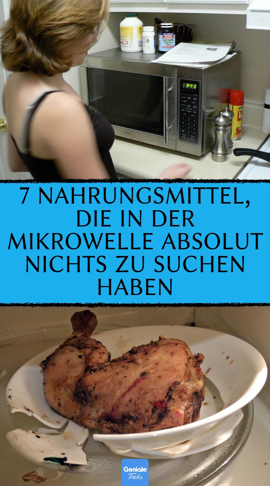 Mikrowelle: 7 Lebensmittel, die dort nicht reingehören