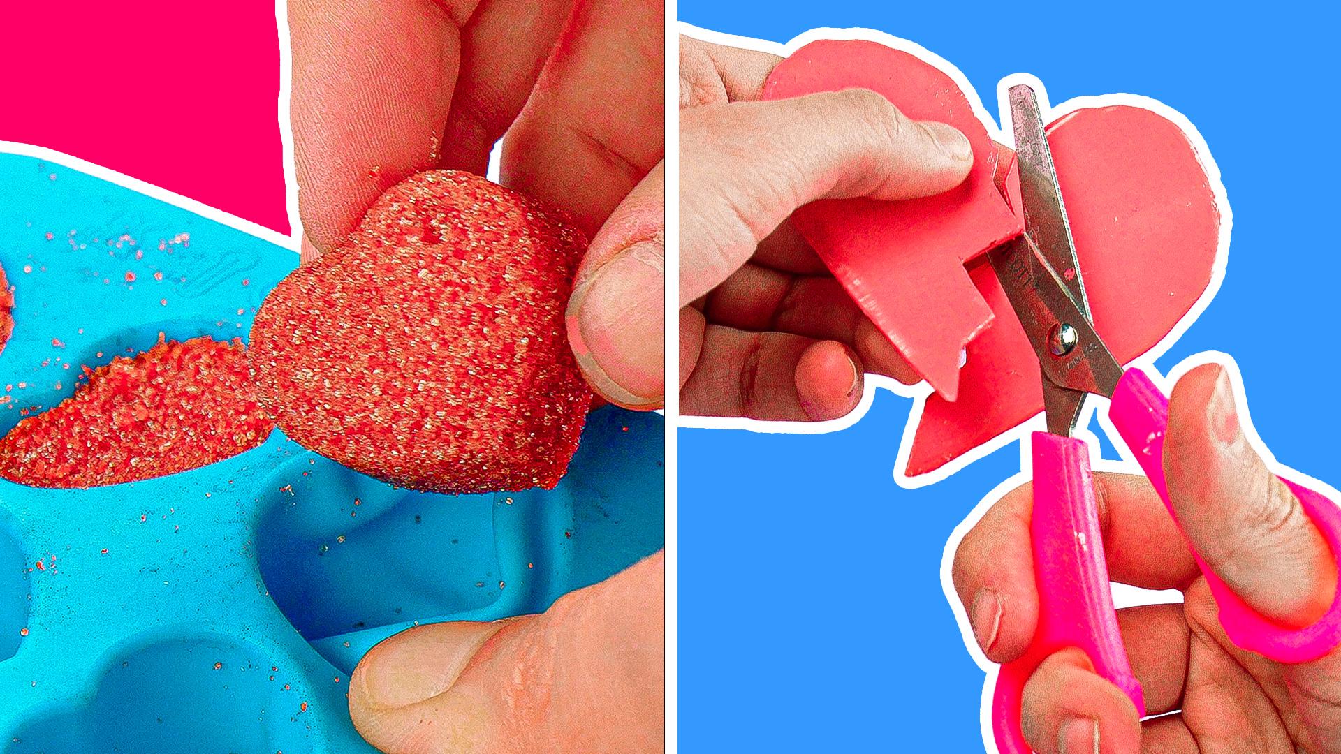 Geschenke zum Valentinstag – 5 entzückende Bastelideen
