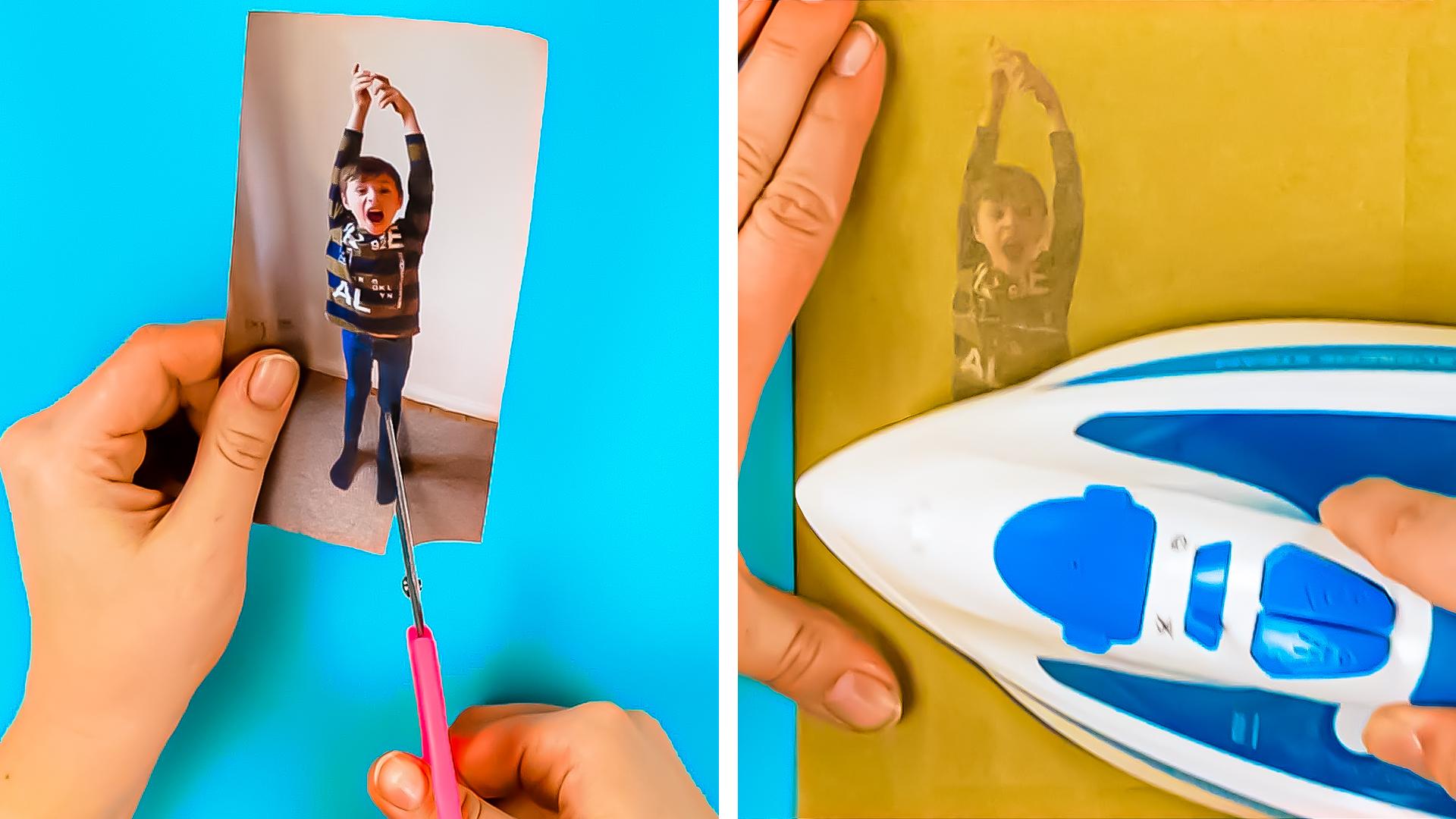 Kreative Fotogeschenke zum Muttertag | Bastelideen mit Fotos