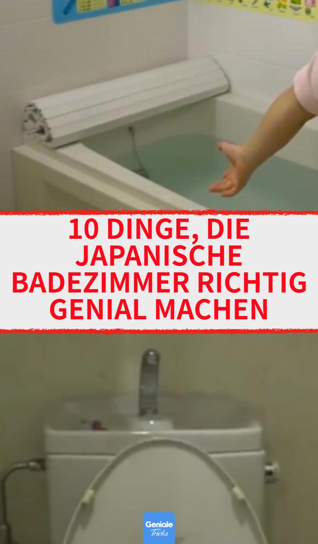 10 Gründe, warum Badezimmer in Japan einfach klasse sind