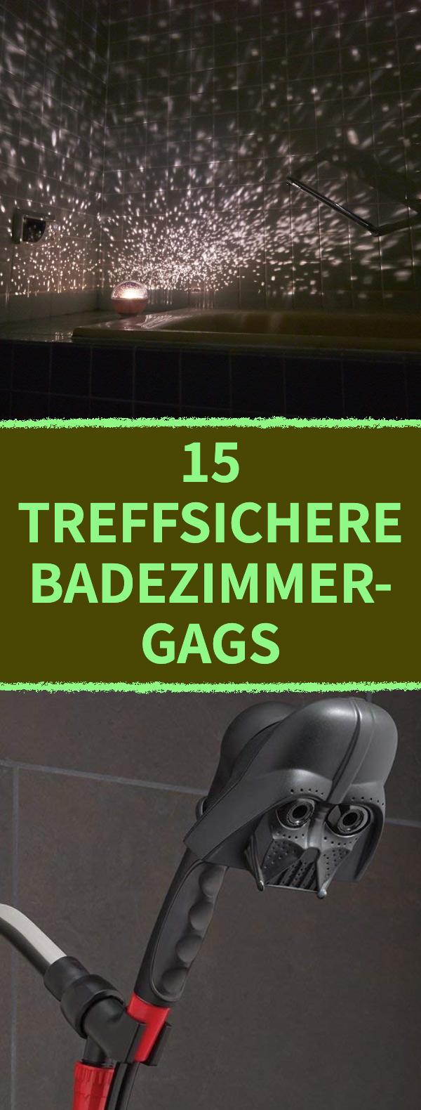 15 lustige Geschenke fürs Bad