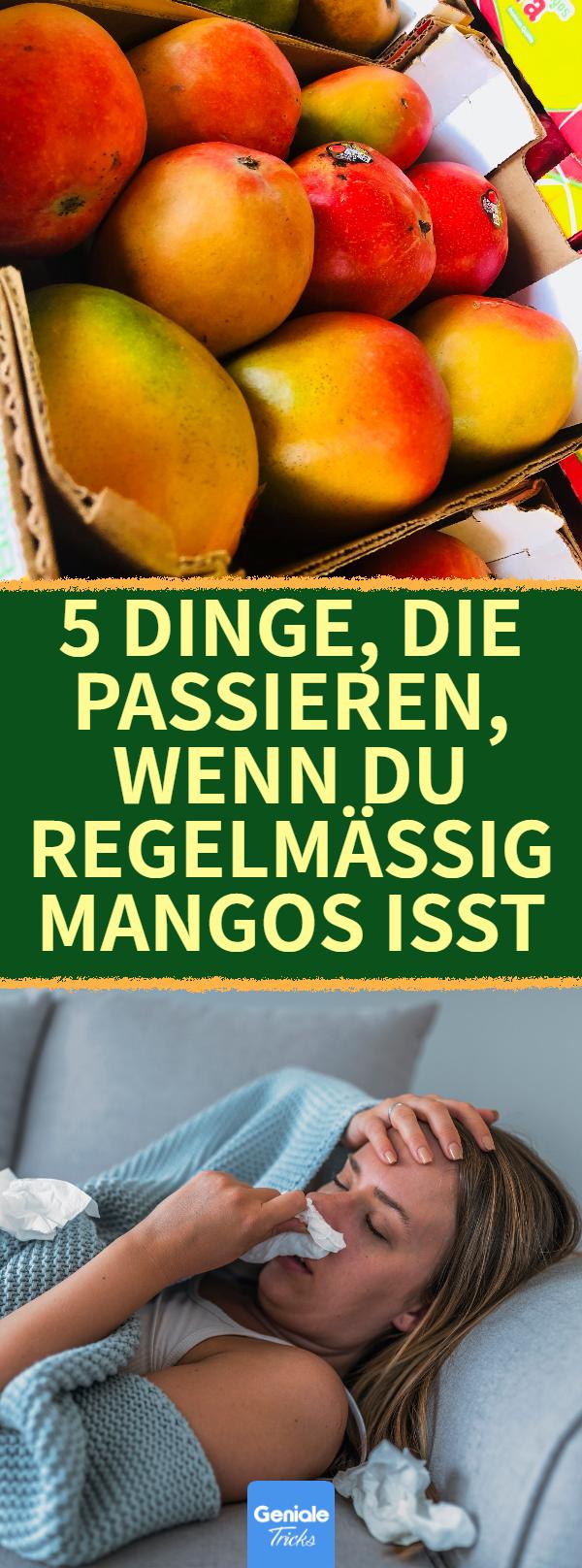 Mango essen: 5 positive Effekte auf den Körper