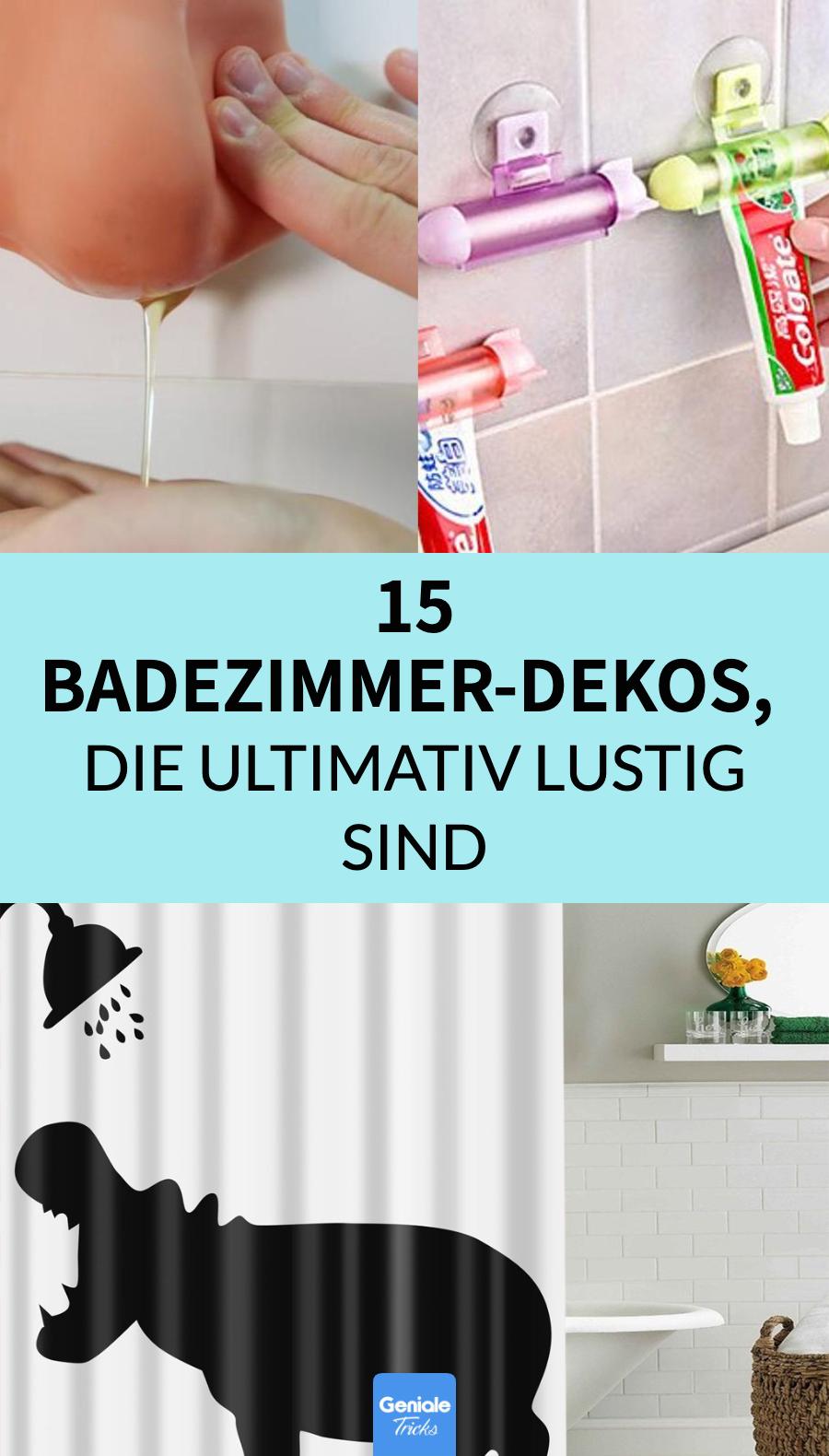 20 lustige Geschenke fürs Bad
