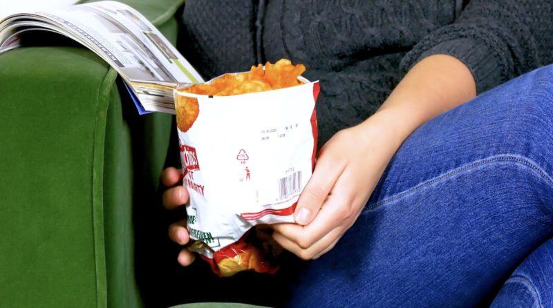 Praktische Chipstüte
