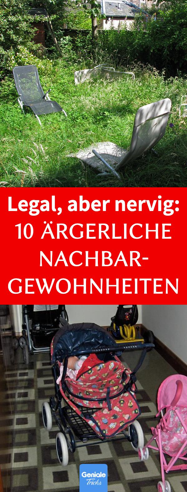 Nervige Nachbarn: 10 legale, aber lästige Verhaltensweisen
