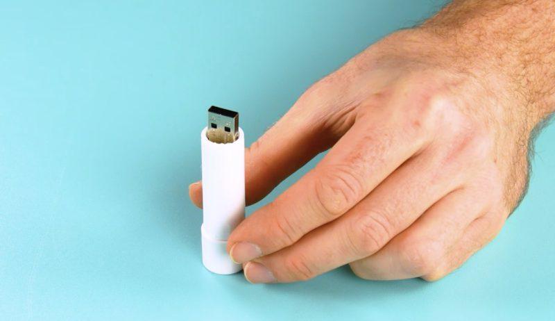 USB-Stick verstecken