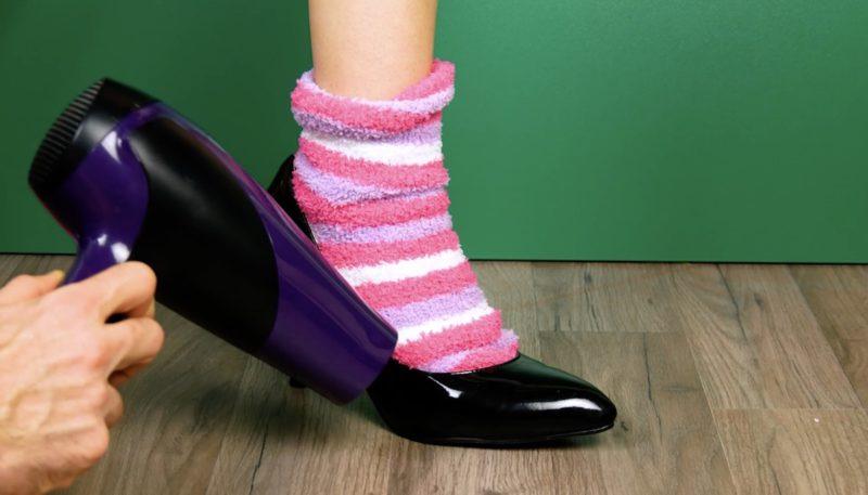 Zu enge Schuhe