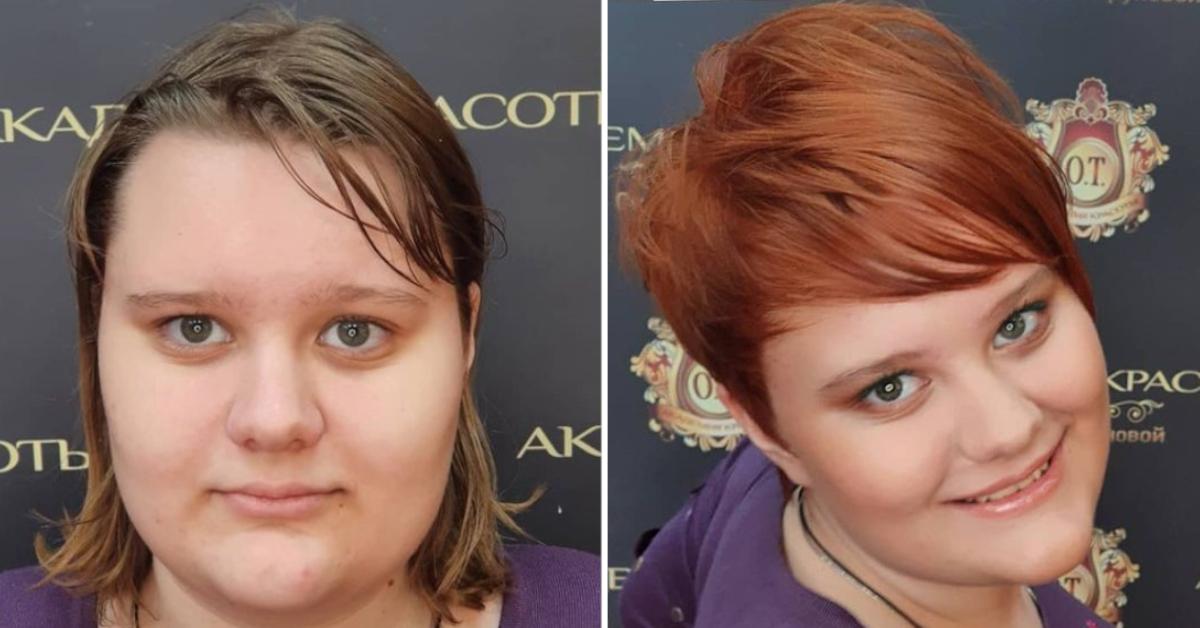 Verwandlung Friseur