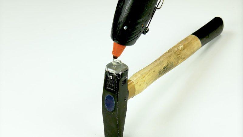 Abdrücke vom Hammer vermeiden