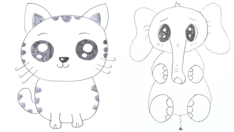 Zeichentricks  Zeichnen lernen  Malen für Anfänger